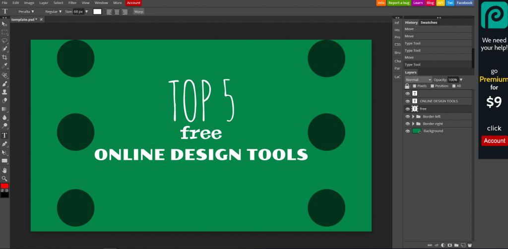Top 5 Free Online Design Tools   Free Design Tools 2019   Marketing Tips